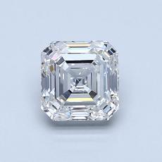 Pierre recommandée n°1: Diamant taille Asscher 0,90 carat