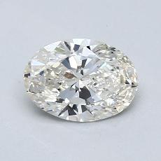 Target Stone: 0.81-Carat Oval Cut Diamond