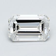 1.00 Carat 绿宝石 Diamond 非常好 D IF
