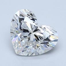 Recommended Stone #2: 1.90-Carat Heart Cut Diamond