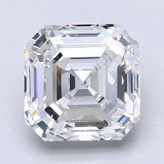 Pierre recommandée n°3: Diamant taille Asscher 2,76 carat