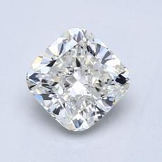 1.01 Carat 墊形 Diamond 非常好 I VVS2