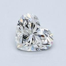 1.01-Carat Heart Diamond Very Good E IF