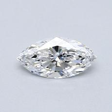 0.41-Carat Marquise Diamond Very Good D IF