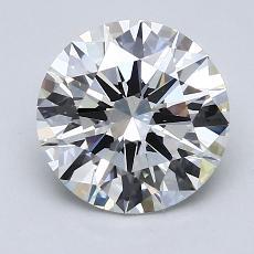 2.02-Carat Round Diamond Ideal G VS1