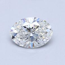 Recommended Stone #4: 0.78-Carat Oval Cut Diamond