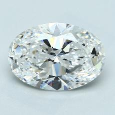 推薦鑽石 #3: 4.20 克拉橢圓形切割鑽石