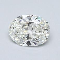 1.01-Carat Oval Diamond Very Good H VS1