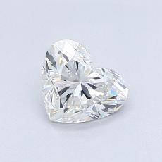 0,73-Carat Heart Diamond Very Good F VS2