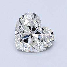 1.00-Carat Heart Diamond Very Good H VS1