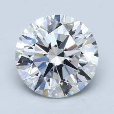 Recommended Stone #1: 3.22-Carat Round Cut Diamond