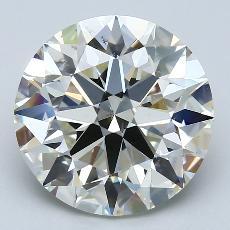 推荐宝石 2:4.50克拉圆形切割钻石
