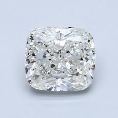 1.21 Carat 墊形 Diamond 非常好 H SI1