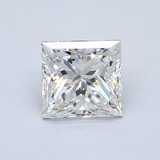 1.01-Carat Princess Diamond Very Good F VS2