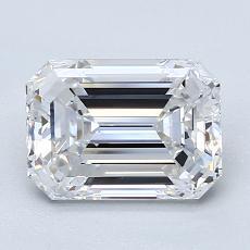 推荐宝石 3:2.03 克拉祖母绿切割钻石