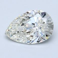 1.29-Carat Pear Diamond Very Good J VVS2