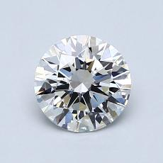 1.00-Carat Round Diamond Ideal E IF