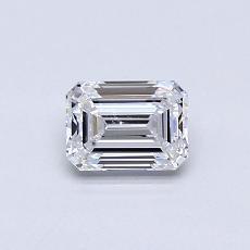 推荐宝石 2:0.50 克拉祖母绿切割钻石