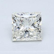 Recommended Stone #3: 0.90-Carat Princess Cut Diamond