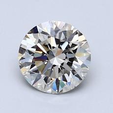 1,23-Carat Round Diamond Ideal K VVS2