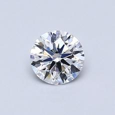 Recommended Stone #4: 0.51-Carat Round Cut Diamond