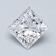 Pierre recommandée n°3: Diamant Taille princesse de 1,28carat