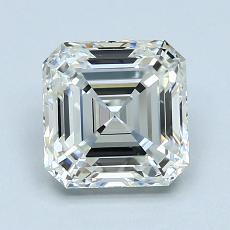 Pierre recommandée n°2: Diamant taille Asscher 1,57 carat