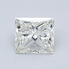 Pierre recommandée n°3: Diamant taille princesse 0,92 carat