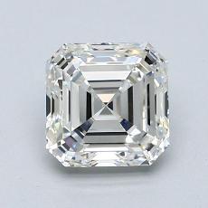 Pierre recommandée n°1: Diamant taille Asscher 1,51 carat