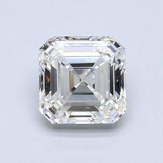 Recommended Stone #2: 1.01-Carat Asscher Cut Diamond