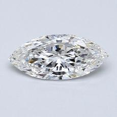 Recommended Stone #3: 0.59-Carat Marquise Cut Diamond