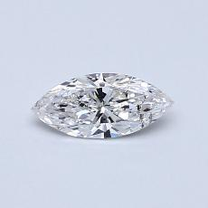 0.30-Carat Marquise Diamond Very Good E SI2