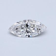 0,30-Carat Marquise Diamond Very Good E SI2