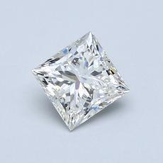 0,70 Carat Princesse Diamond Très bonne I VS2