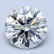 2.01-Carat Oval Diamond Very Good I VVS1