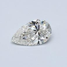Recommended Stone #3: 0,41-Carat Pear Cut Diamond