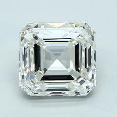 Recommended Stone #3: 4.02-Carat Asscher Cut Diamond