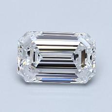 推荐宝石 1:1.01 克拉祖母绿切割钻石