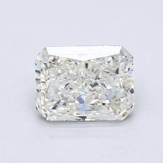 1.51-Carat Radiant Diamond Very Good J VS2