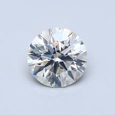 0.70 Carat 圆形 Diamond 理想 J SI2