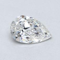 Target Stone: 0.63-Carat Pear Cut Diamond