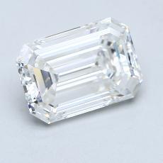 Recommended Stone #4: 3.09-Carat Emerald Cut Diamond