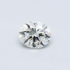 0.32 Carat 橢圓形 Diamond Astor 理想 I VVS2