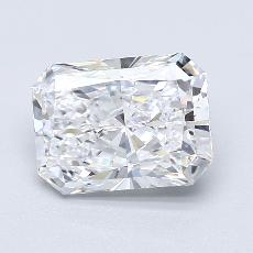 Recommended Stone #4: 2.50-Carat Radiant Cut Diamond