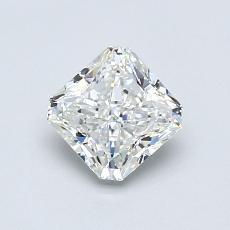 0.80-Carat Radiant Diamond Very Good G VVS1