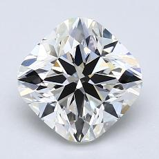 推薦鑽石 #3: 2.07 克拉墊形切割