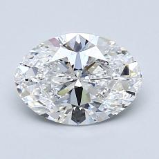 Recommended Stone #3: 1.26-Carat Oval Cut Diamond