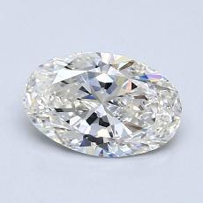 推荐宝石 2:1.01克拉椭圆形切割钻石