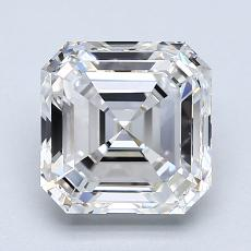 Recommended Stone #3: 2.00-Carat Asscher Cut Diamond