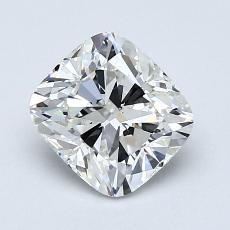 1.30-Carat Cushion Diamond Very Good G VS2